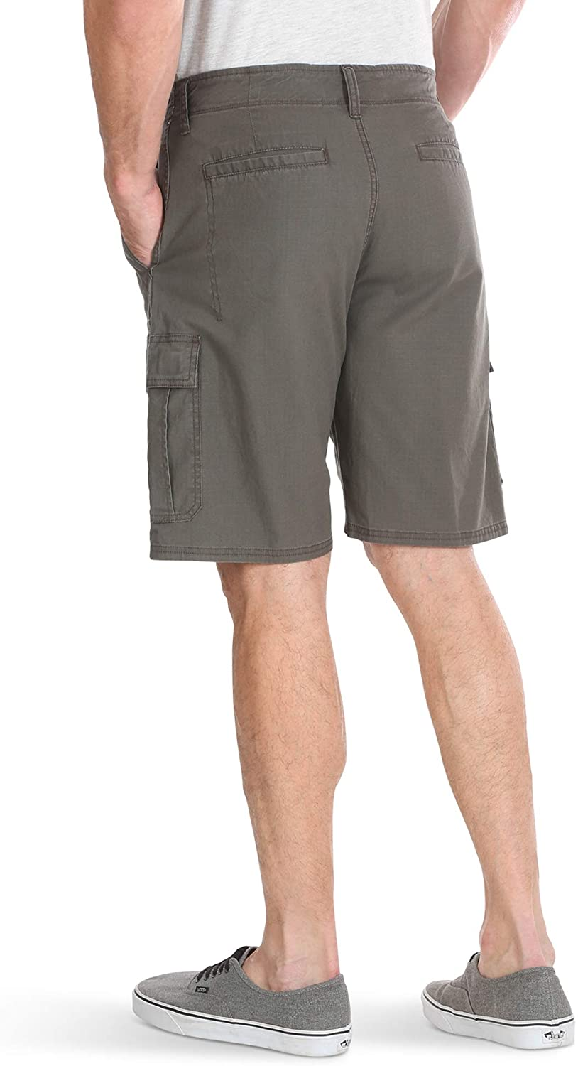 Wrangler Authentics Mens Classic Relaxed Fit Stretch Cargo Short