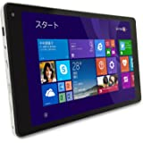 iiyama PC 8P1150T-AT-FEM [Windows 8.1搭載] Windowsタブレット/8型(1,280×800)WXGAグレア液晶/Atom Z3735F/eMMC32GB/2GB/光学ドライブなし