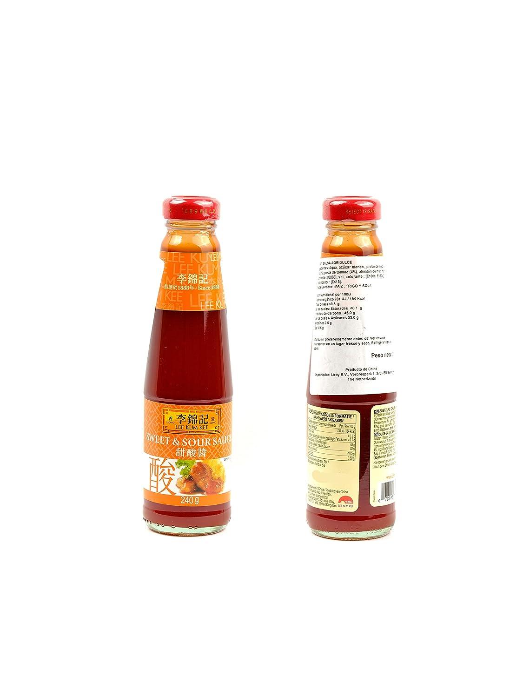 Lee Kum Kee Salsa Agridulce de toda la vida, para tus arroces rollitos y todo lo que quieras 240g: Amazon.es: Alimentación y bebidas