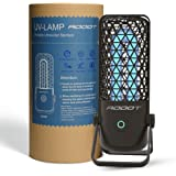 ADDOT Mini Portable UVC, UV Light Sanitizer lamp, Ultraviolet Ozone Double Germicidal Lamp - Sanitize for Small Spaces, Hotel