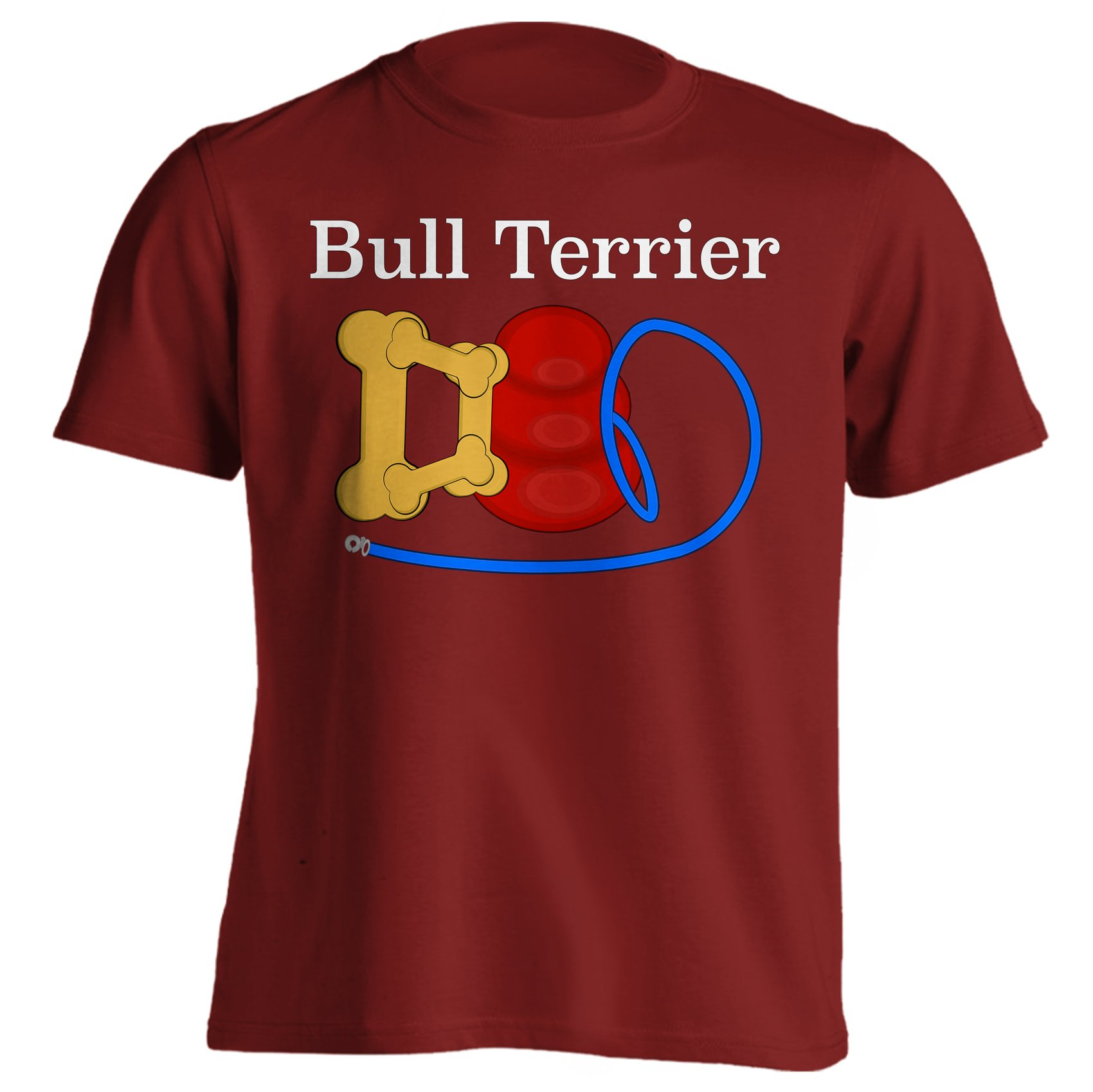 Funny Bull Terrier Dad Dog Breed T Shirt 9270