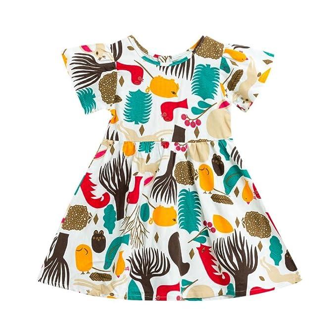 Stirnband Set JERFER Kleinkind Infant Kinder Baby M/ädchen Outfits Kleidung T-Shirt Tops Pants