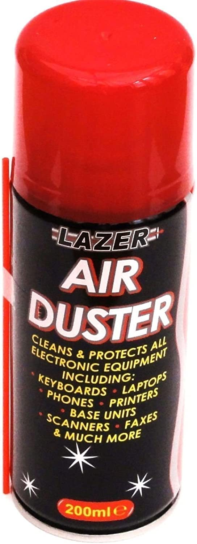 Aire comprimido plumero Spray Limpia y Protege portátiles teclados 200 ml nuevo