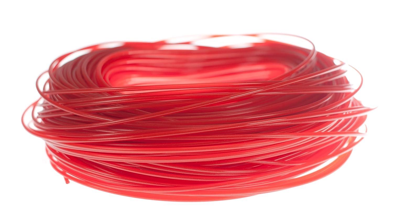 Hilo de nylon alrededor de 2,4//15 Oregon 552618 rojo,