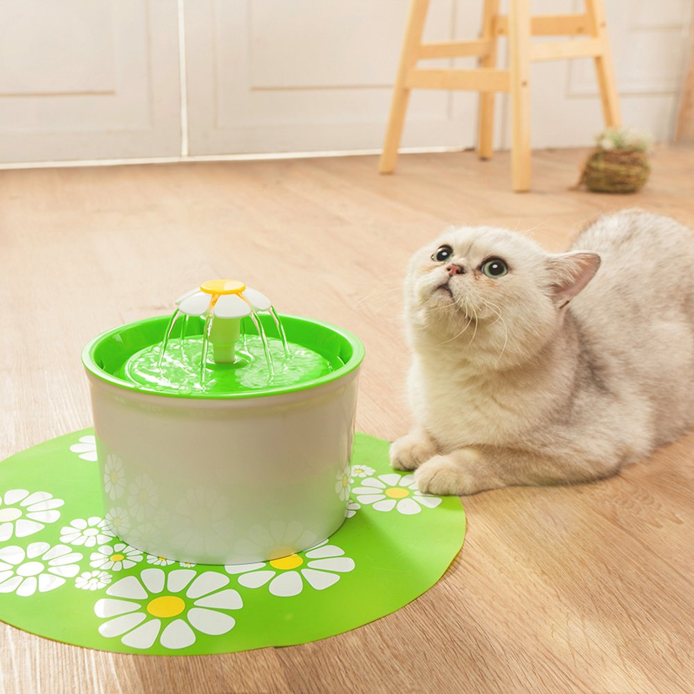 Iainstars Automatic Pet Drinking Fountain Mute Cat Dog Water Dispenser Feeder by Iainstars (Image #4)