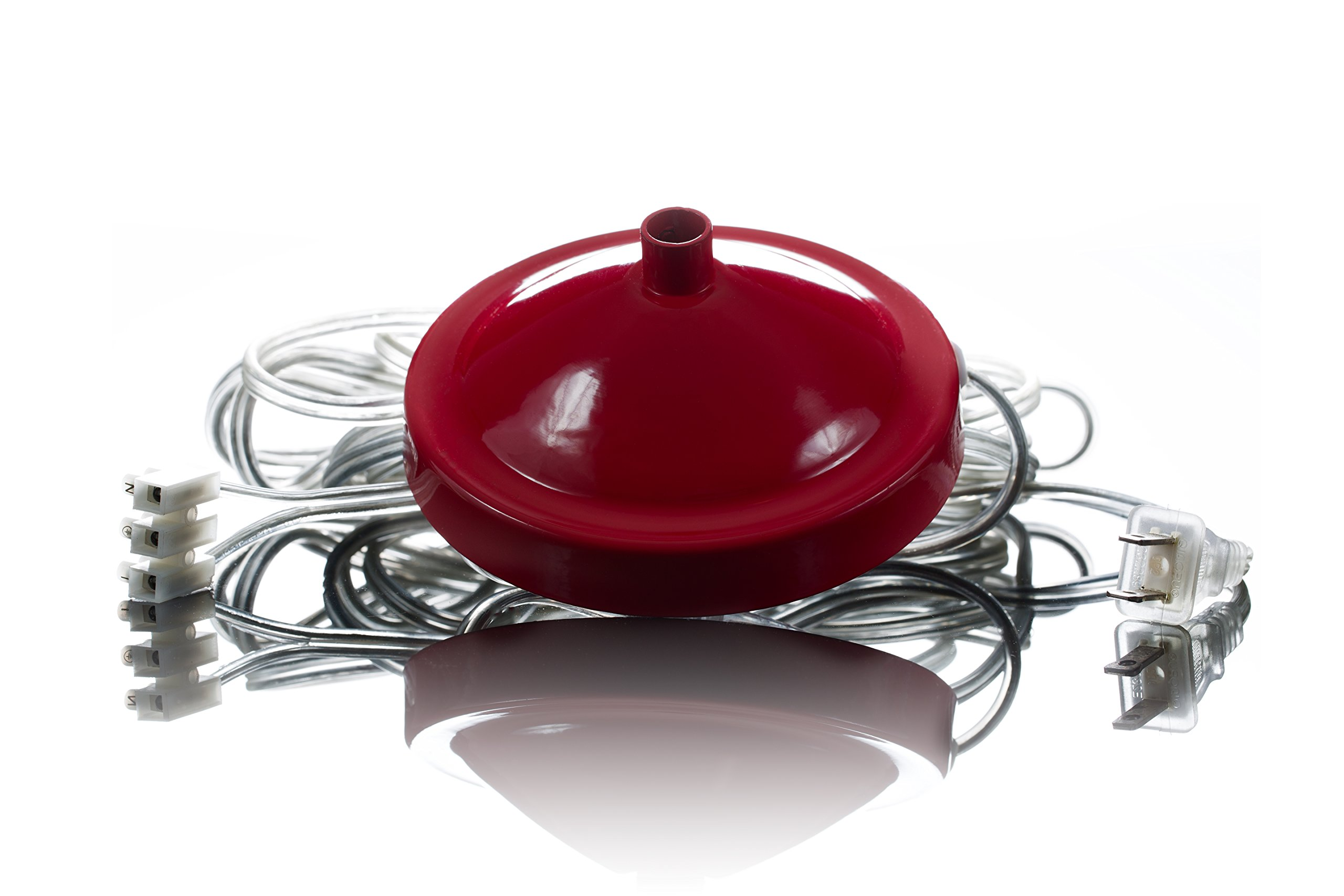 The Original Gypsy Color Plug-in Conversion Kit Red Multicolor with 14 ft. Cord, Switch and Plug