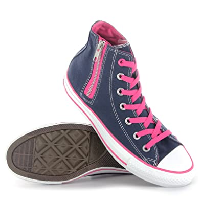 2670c2d6d80a Converse CT Athletic Side Zip Navy Pink Womens Trainers Size 6 UK   Amazon.co.uk  Shoes   Bags