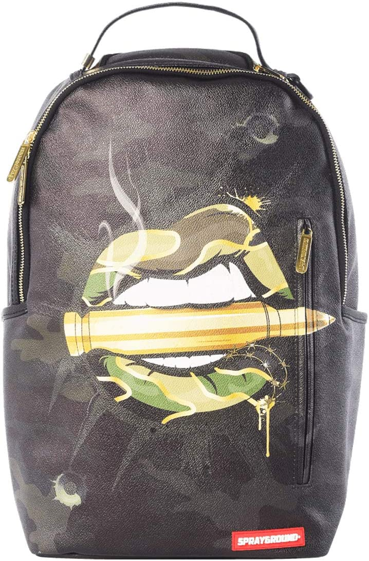 SPRAYGROUND Army Lips Backpack Camo B1604