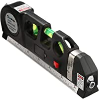 Deals on Qooltek Multipurpose Laser Level Laser Line 8 feet Measure Tape