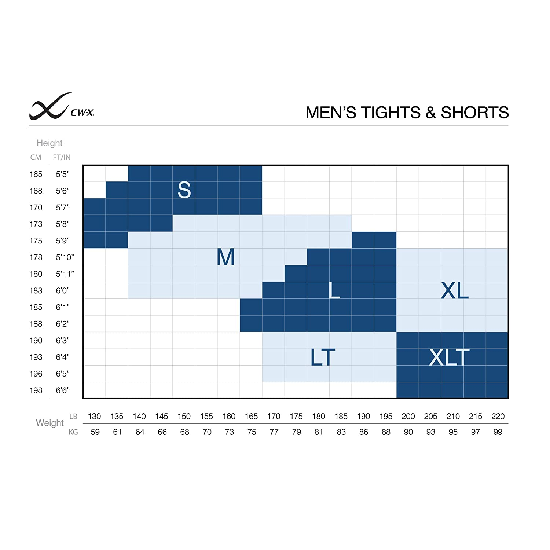 CWX Mens 74678 Pro Tights