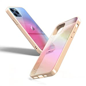 OLOR USA iPhone 12 Pro Max Case – Ultra Slim Fit 3 Layer Protection Shockproof Mirror Finish Apple Cell Phone Protective Cover Wireless Charging Ivory