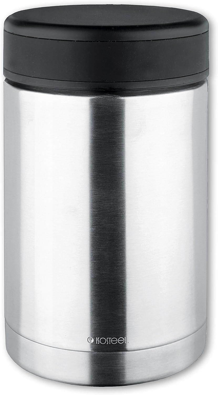 Isosteel Vacuum Food Container, 10 x 15 x 20 cm, Silver