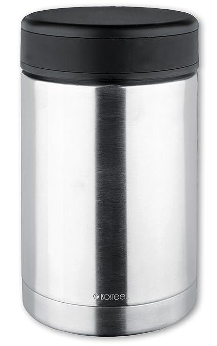 ISOSTEEL Isolierbehälter Essenbehälter Foodbehälter Thermobehälter mit 3 Boxen