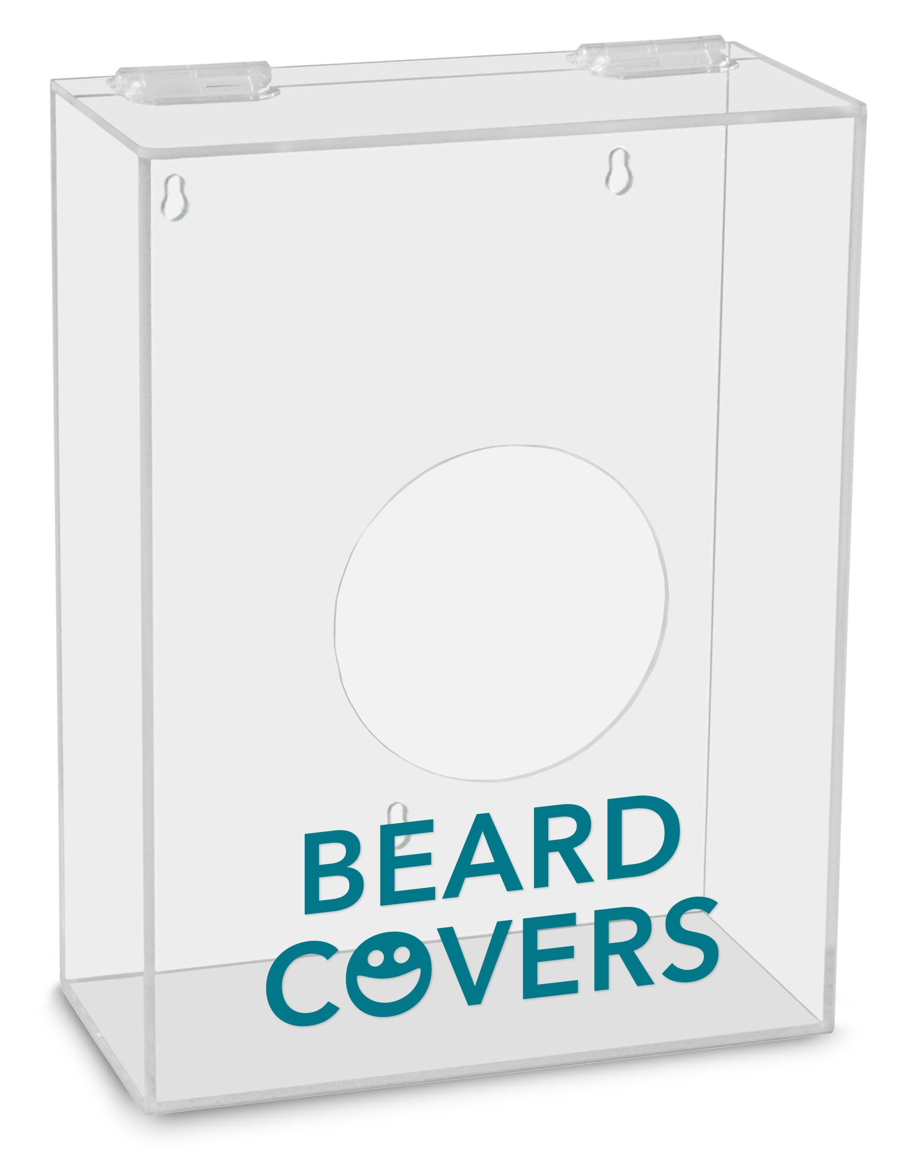 TrippNT 51304 Beard Covers Labeled Small Apparel Dispenser, 9'' Width x 12'' Height x 4'' Depth