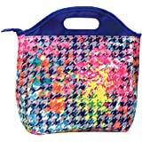 iscream 'Rainbow Houndstooth' Insulated Lunch Tote