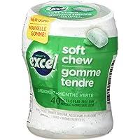 Excel Soft Chew Spearmint, 40ct x 6 Bottles