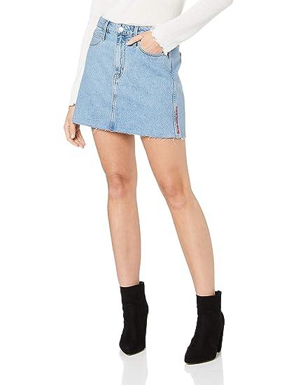 Calvin Klein Falda Mujer Mid Rise Mini Skirt J20J211063.911 ...