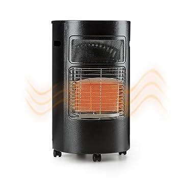 Blumfeldt Bonaparte • Estufa de Gas • Calefactor de Gas • Potencia de 1600, 2600
