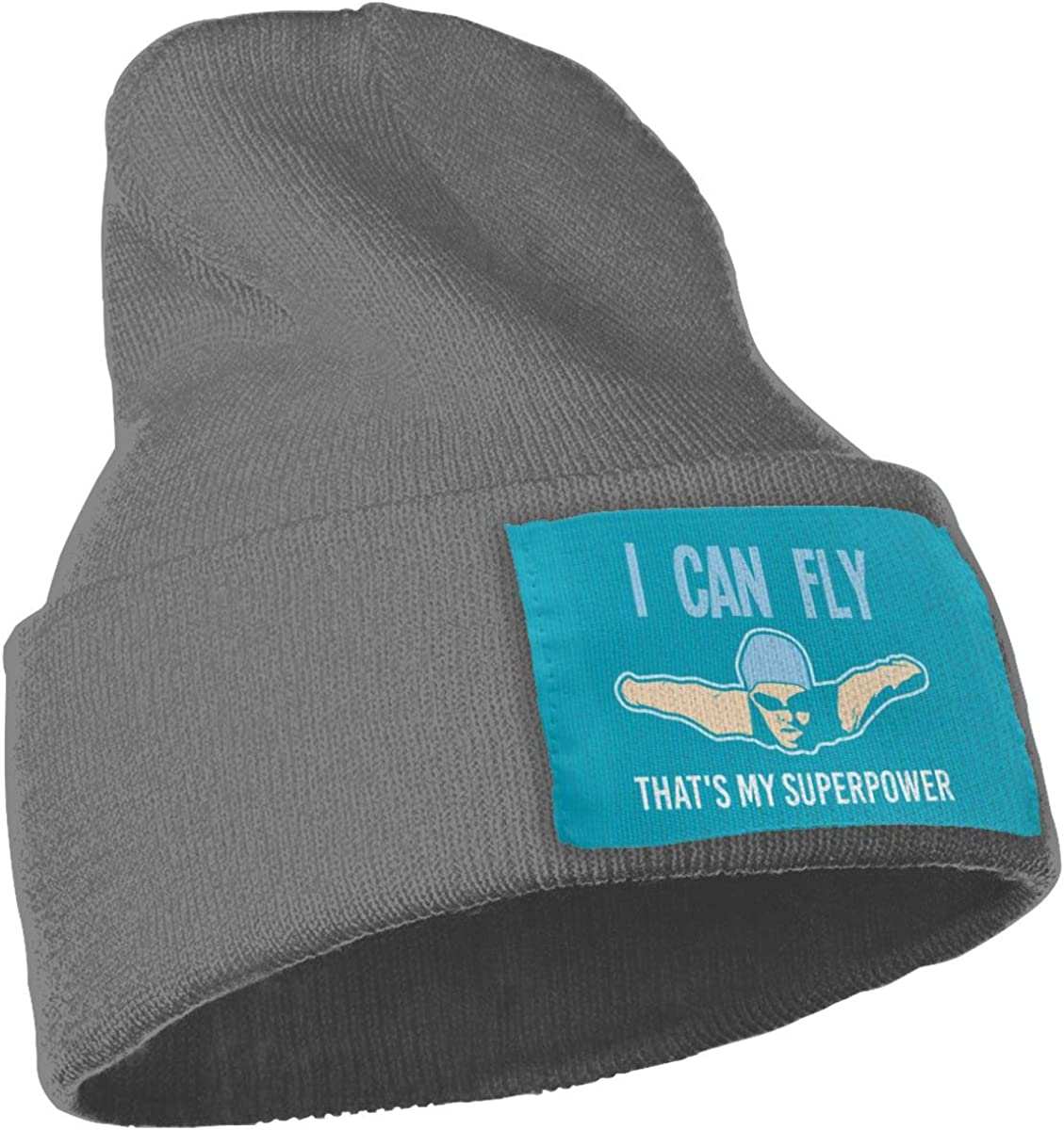 Oopp Jfhg I Can Fly Thats My Superpower 1 Wool Cap Skull Hats Unisex Winter