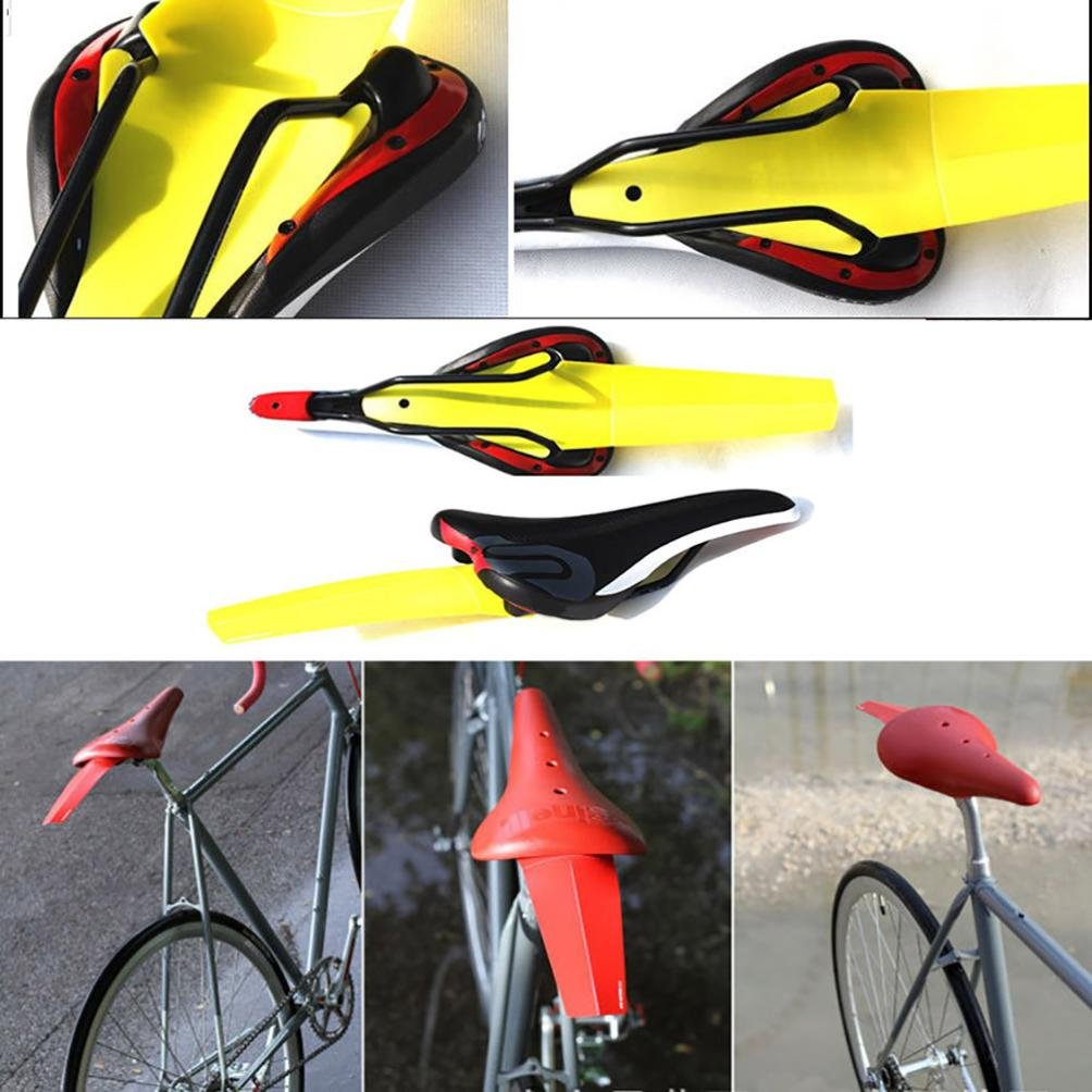 Coohole Simple Installation Bike Bicycle Mudguards Mountain Cycling Fender (Green) by Coohole (Image #4)