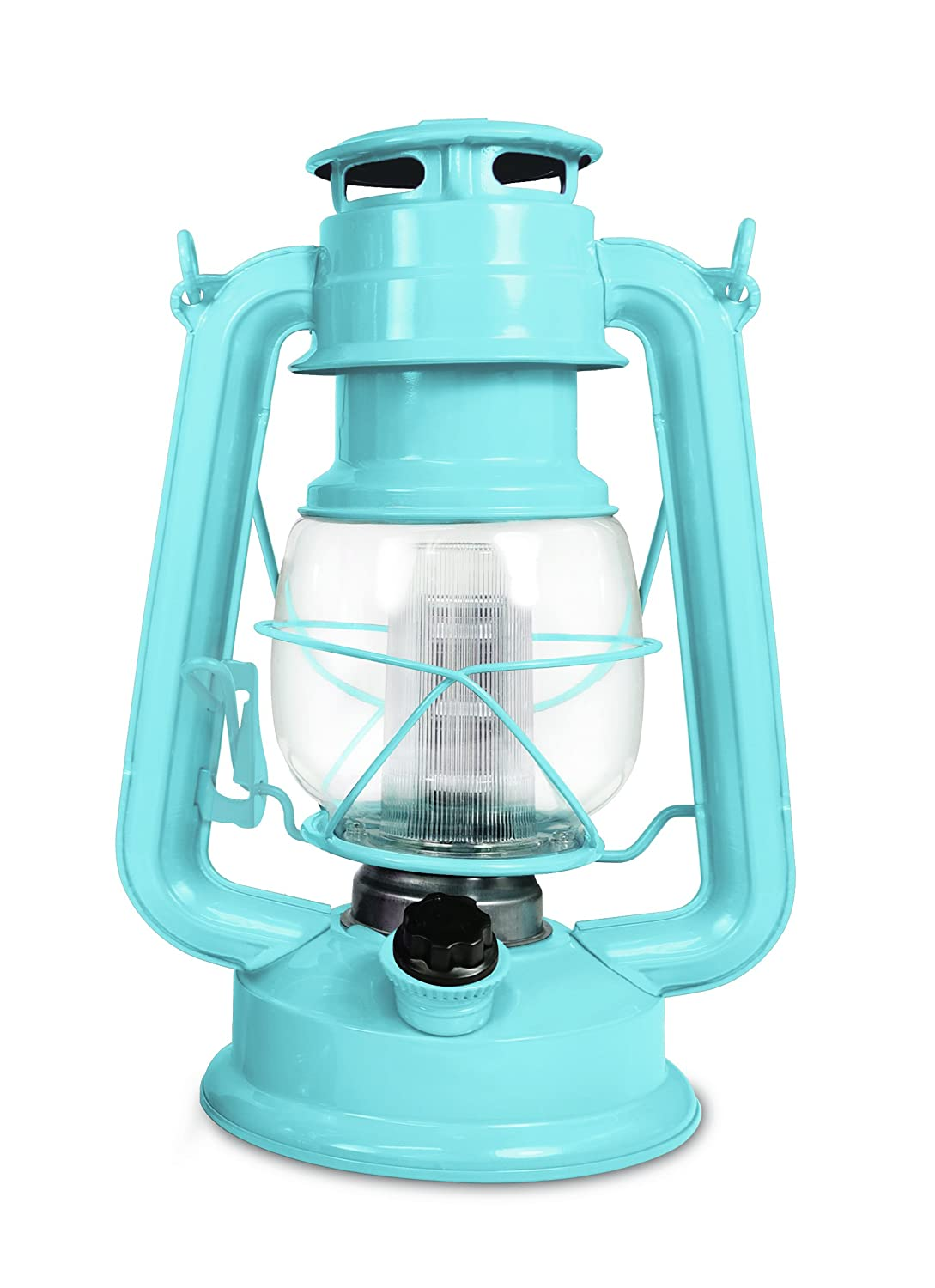 Northpoint 190614 Vintage Style Horizon Haze Hurricane 12 LED s and 150 Lumen Light Output and Dimmer Switch, Battery Operated Hanging Lantern for Indoors and Outdoor Usage, Piece