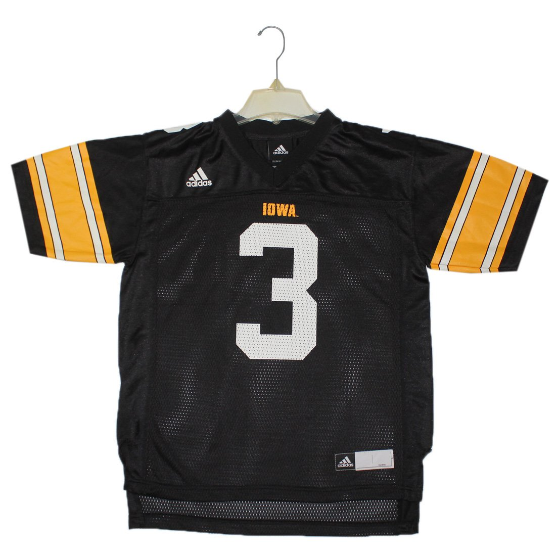 8ba2d1d93 50%OFF Youth NCAA - IOWA HAWKEYES  3 Athletic Short Sleeve Jersey Shirt