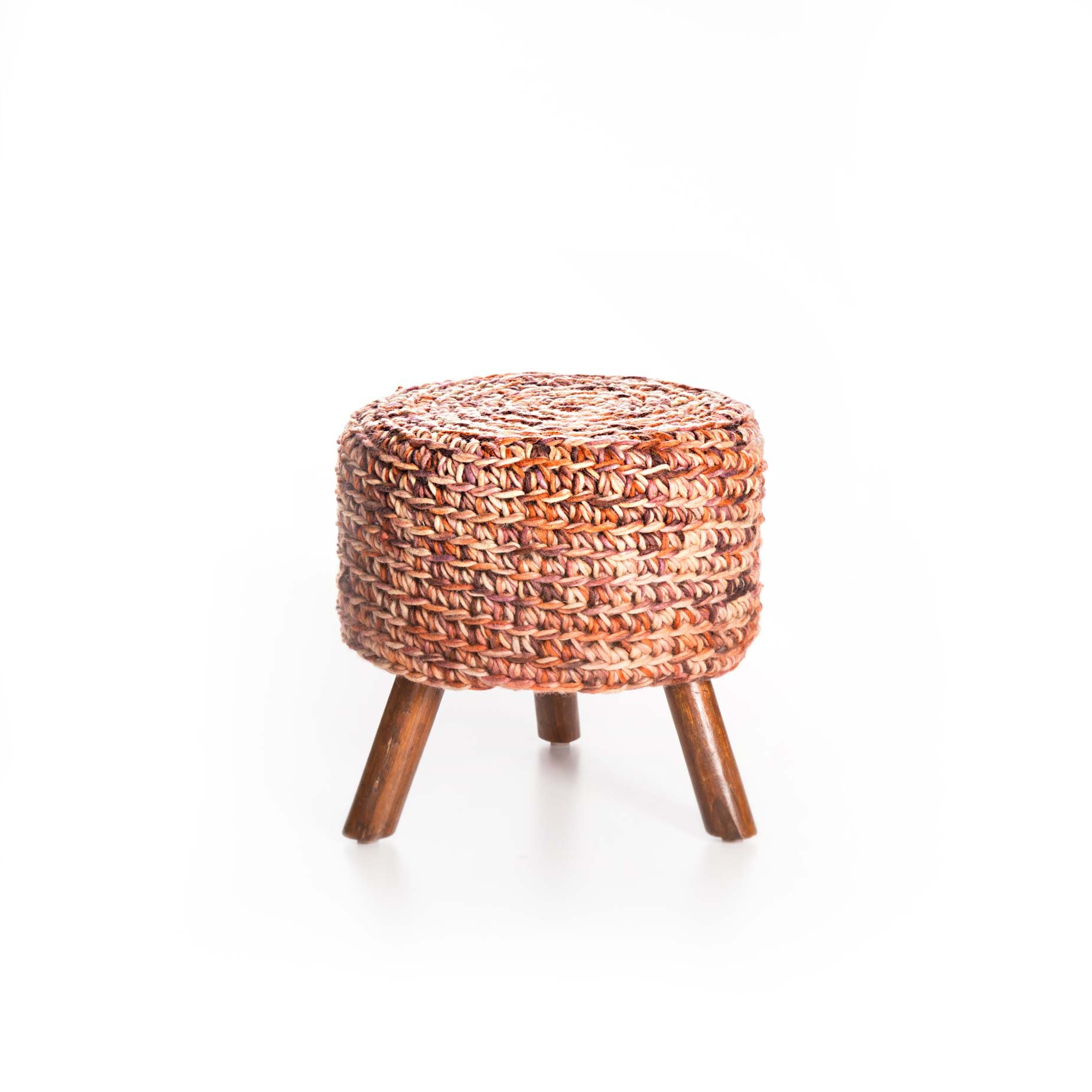 Artemano CH0585318 Wool Top Stool