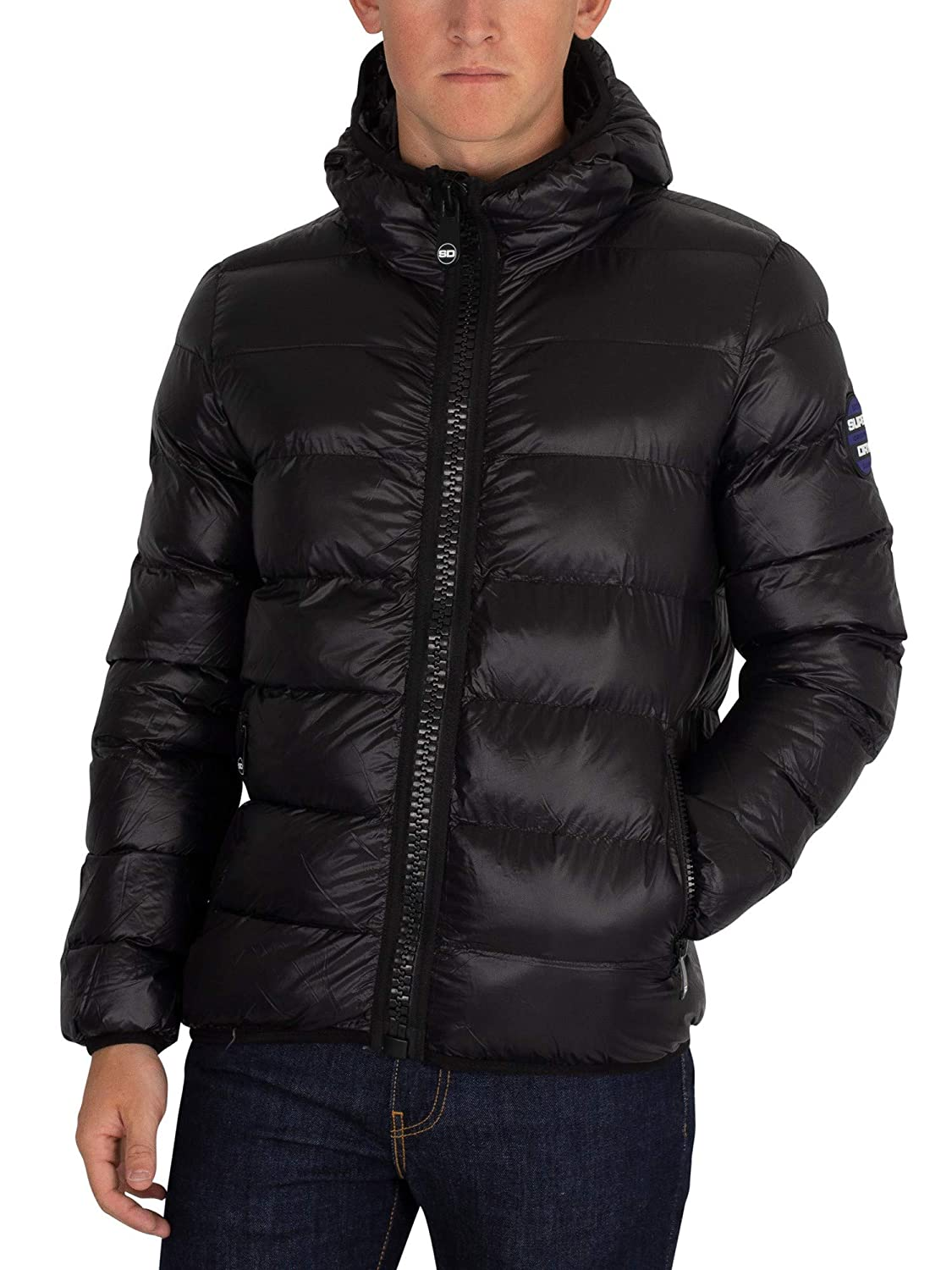 Superdry Men's Crater Padded Jacket, Black