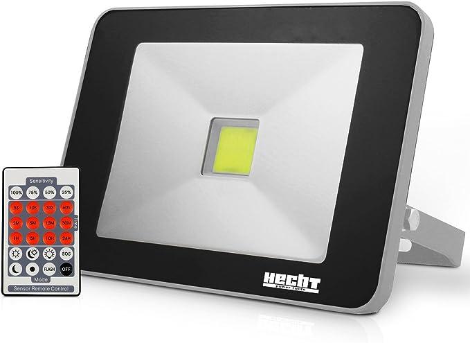 HECHT 2813 – Foco proyector Led con detector de movimiento y mando ...