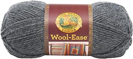 Oxford Grey Lion Brand Yarn 620-152 Wool-Ease Yarn