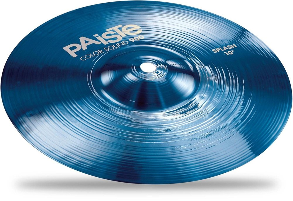 Paiste 10 Inches Color Sound 900 Blue Splash Cymbal by Paiste