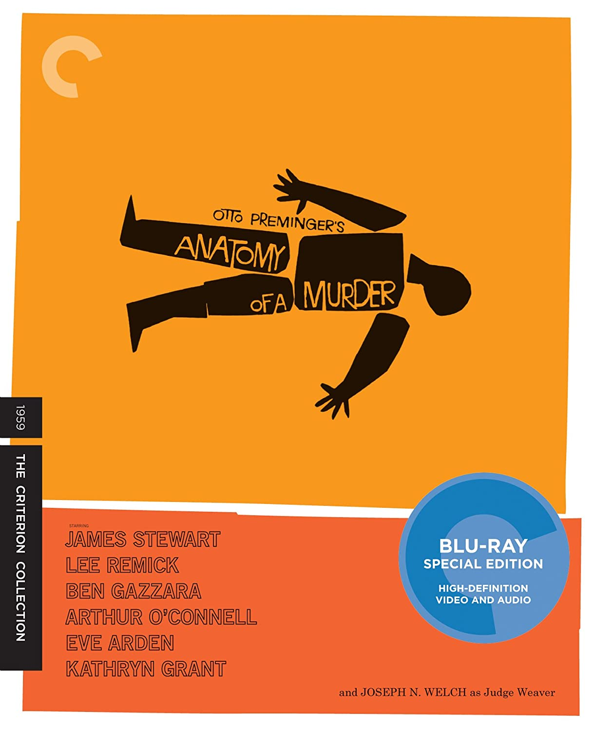 Amazon.com: Anatomy of a Murder (The Criterion Collection) [Blu-ray ...