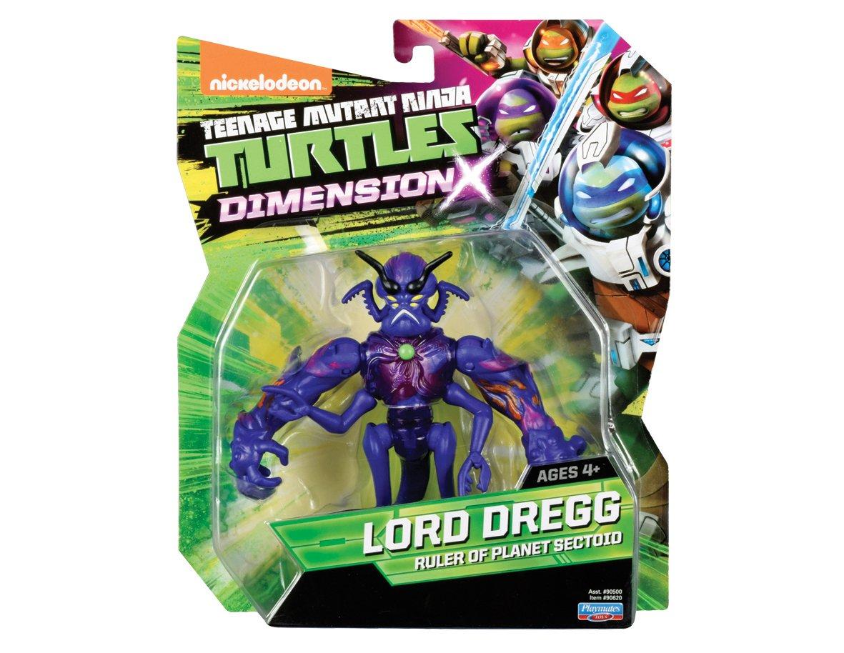 Figura Tortugas Ninja Dimensión X Señor Dregg Acción: Amazon ...