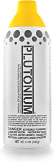 product image for Plutonium Paint Ultra Supreme Professional Aerosol Paint, 12-Ounce, Dayz Yellow