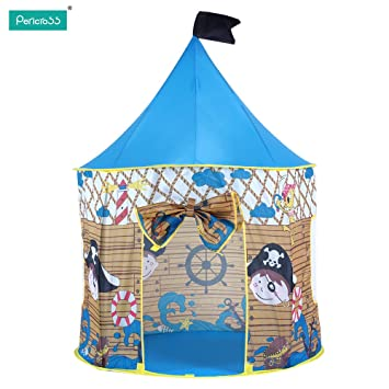 Pericross Portable Kids Teepee Pop Up Tents Pirate Play Hut Play House Fairy Tale Castle Indoor  sc 1 st  Amazon.ca & Pericross Portable Kids Teepee Pop Up Tents Pirate Play Hut Play ...