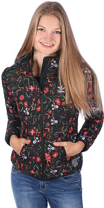 Sweatshirt Jacket DamenSchwarzpinkweiß Adidas Aop Slim 80wXnOPk