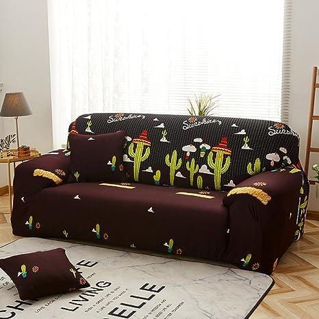 Amazon.com: KFHIWUEHPJHD Floral Printed slipcover Sofa ...