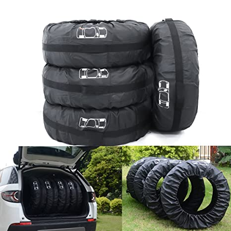 Alta Calidad Fundas para Rueda Repuesto para Neumáticos de Ruedas Recambio coche Cubre Cubierta Caso Protector