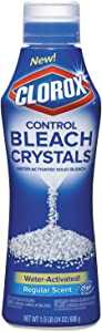 Clorox Control Regular Bleach Crystals, 24 Ounce (Pack of 6)