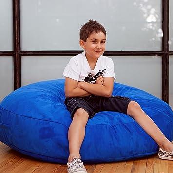 Amazing Jaxx Bean Bags Cocoon Junior Kids Bean Bag 4 Feet Blueberry Microsuede Unemploymentrelief Wooden Chair Designs For Living Room Unemploymentrelieforg