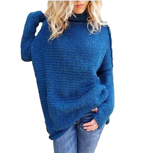 XGMSD Flojo Femenino Suéteres Otoño Invierno Que Basa La Camisa Caliente