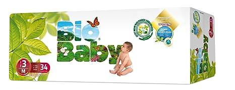 Moltex - BBPA3 - Pañales Moltex Bio Baby T3 (7-10 kg) 34