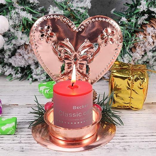 STOBOK candelabro de Navidad candelabro de Hierro candelabro de ...