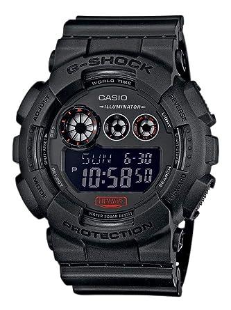 Casio Reloj Digital para Hombre de Cuarzo con Correa en Resina GD-120MB-1ER: Amazon.es: Relojes