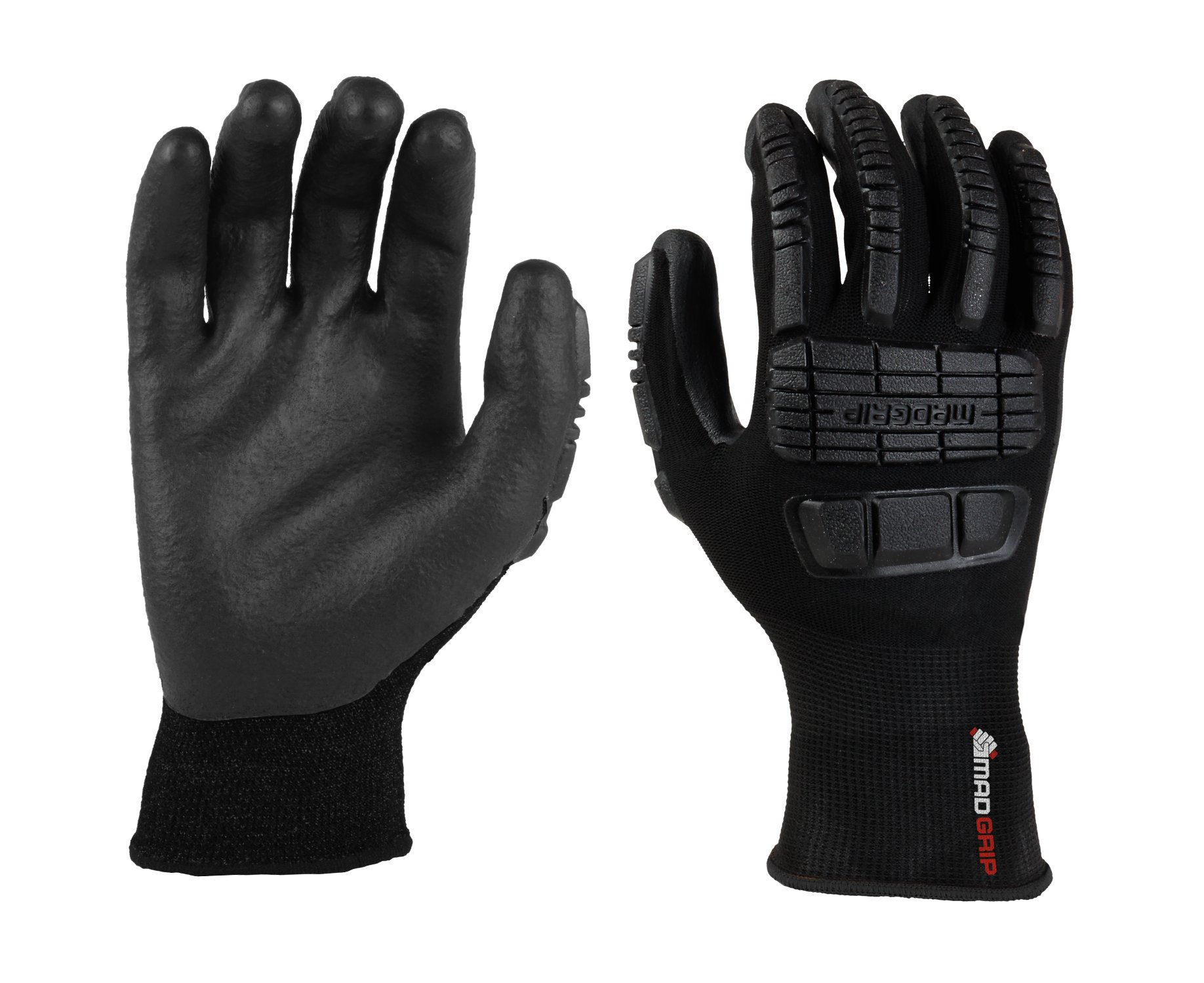 MadGrip Ergo Impact Foam Nitrile Palm Glove