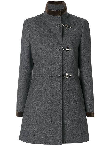 Fay Cappotto Donna Naw50354000hapb802 Lana Grigio  Amazon.it  Abbigliamento 102d06304990