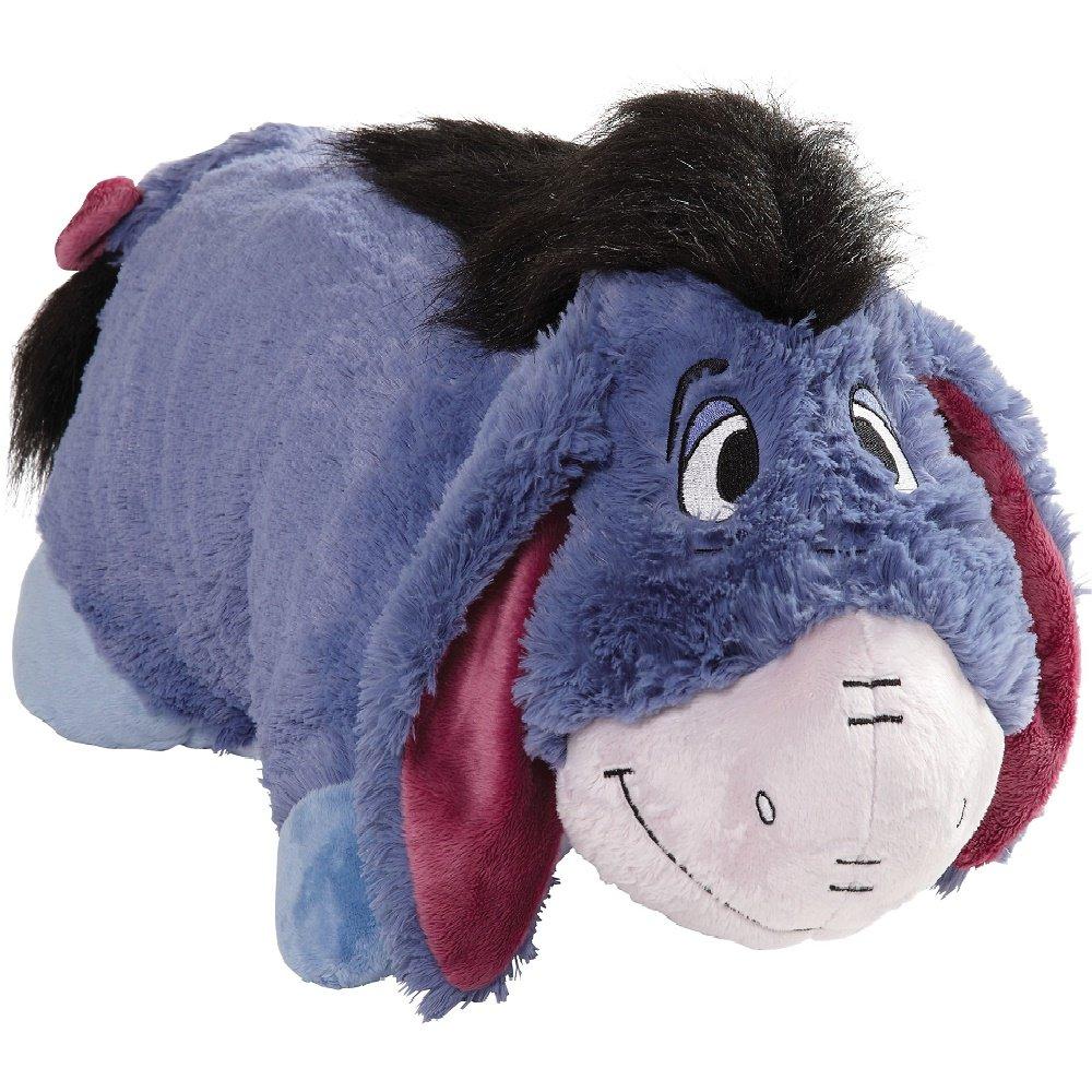 "Amazon.com: Pillow Pets Authentic Disney 18""Eeyore, Folding Plush ..."