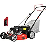 PowerSmart Self Propelled Lawn Mower DB2321SR, 21 Inch Lawn Mower Gas Powered with 170CC 4-Stroke Engine, 3-in-1 Mower with B