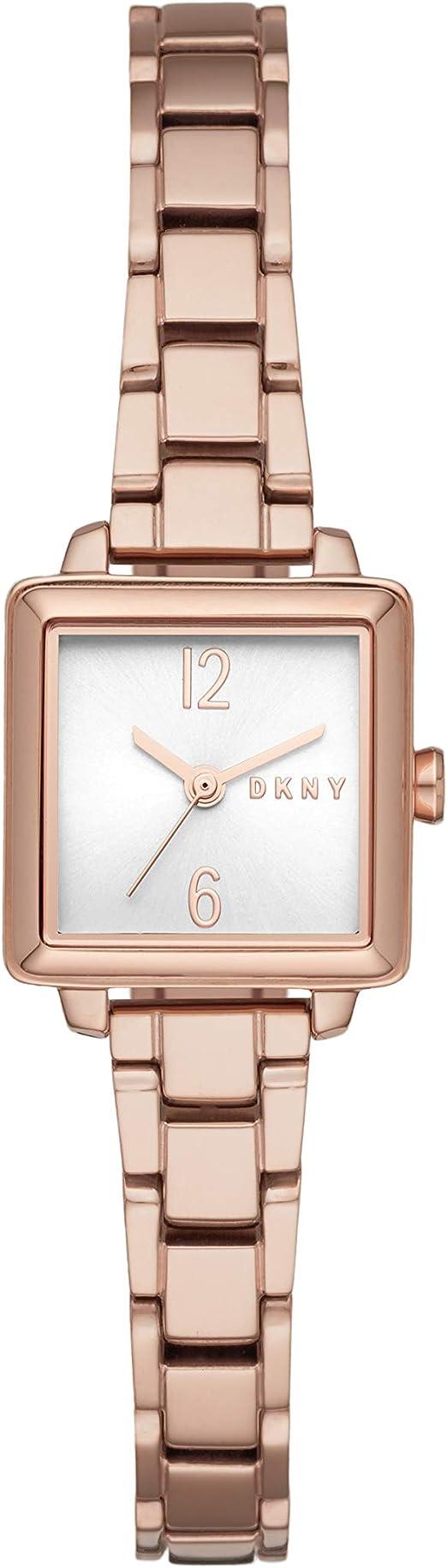 DKNY Women's Crosstown Stainless Steel Dress Quartz Watch