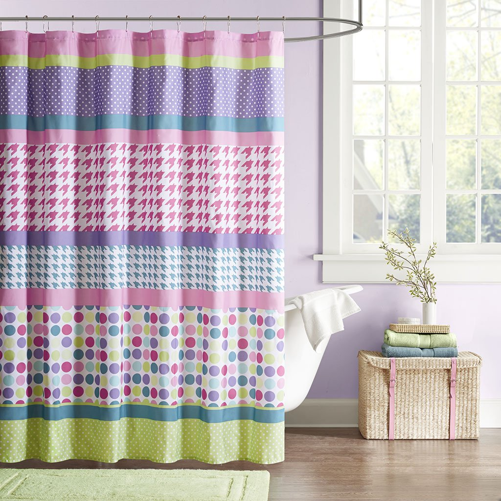 Amazon Mizone MZ70 366 Mi Zone Katie Shower Curtain 72x72 Multi72x72 Home Kitchen